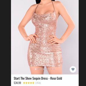 """FashionNova """"Start the Show"""" Sequin Dress"""